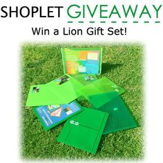 Win a Lion Gift Bundle. Contest begins May 18- May 25th 2015. http://blog.shoplet.com/giveaways/win-a-lion-gift-bundle/