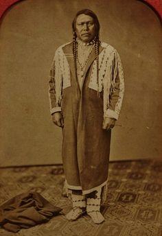 Ouray (aka The Arrow), in Washington D.C. - Jicarilla Apache/Southern Ute - 1868
