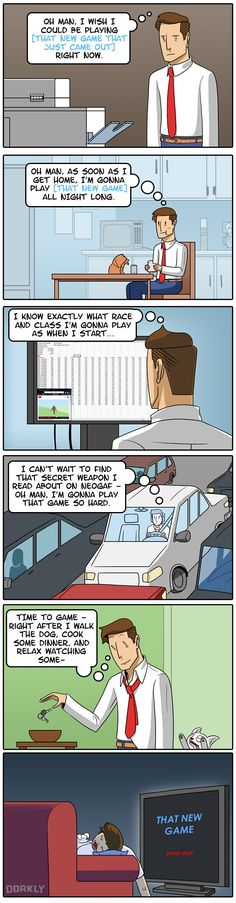 """The Truth About Life and Video Games"" #dorkly #geek #videogames"