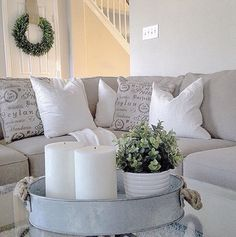 My neutral living room @juliecwarnock