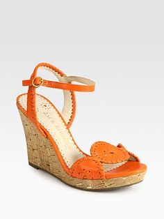 ab926fa30905 Jack Rogers - Clare Leather   Cork Wedge Sandals