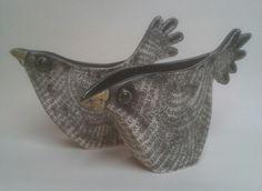 Alice Shepherd Ceramics. Bird Jugs