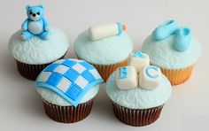 baby shower cupcakes baby - Buscar con Google