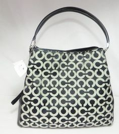c91a7202ef3f Coach With Leather Trim Shoulder Bag. Get one of the hottest styles of the  season