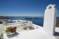The magnificent outlook from the dedicated lounger and terrace seating of our residences...