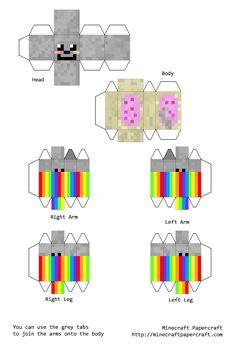 Papercraft Nyan Cat