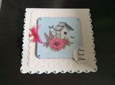 Craftwork Cards, Crafts To Make, Sweet Home, Bloom, Cake, How To Make, Collections, Birds, Gallery
