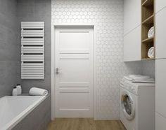 Aranżacje wnętrz - Łazienka: ŁAZIENKA - 5 m2 - Mała łazienka w bloku w domu jednorodzinnym bez okna, styl minimalistyczny - BIG IDEA studio projektowe. Przeglądaj, dodawaj i zapisuj najlepsze zdjęcia, pomysły i inspiracje designerskie. W bazie mamy już prawie milion fotografii!