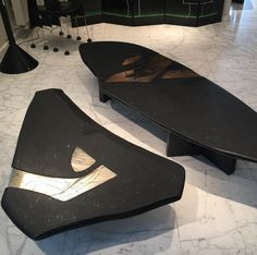 "115 mentions J'aime, 4 commentaires - Emmanuel Jonckers Jenatzy (@emmanuel.jonckers.jenatzy) sur Instagram : ""Orion & Sirius, low tables realised with amazing stone and inclusion of bronze for Orion and…"""