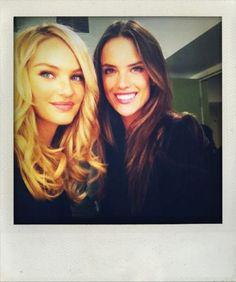 Candice and Alessandra