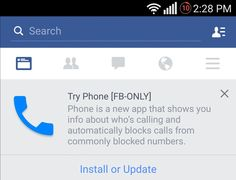 Facebook is testing an Android dialer with caller ID and automatic call blocking