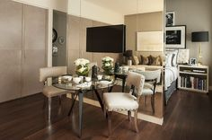 Стильный интерьер квартиры в Лондоне