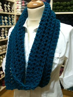 I might just have to start a new project! i love this scarf! Ravelry: Here Comes Treble pattern by Rose Anne