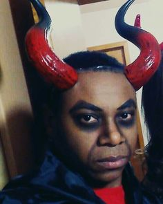 Maquiagem Diabo