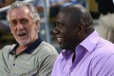#NBA: Pat Riley ve a Magic Johnson otra vez campeón con los Lakers