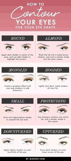 Makeup and Beauty - Eye Contour  #makeup #beauty #eyes