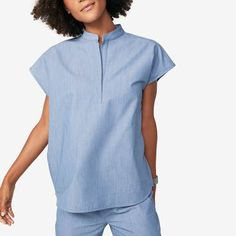 All Scrubs - Women's colllection styles) - FIGS makes awesome medical apparel. Why wear scrubs when you can wear FIGS? Scrubs Outfit, Scrubs Uniform, Lab Coats, Medical Scrubs, Scrub Pants, Premier Designs, Scrub Tops, Mandarin Collar, Blouses For Women