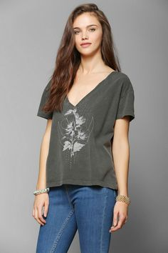 Truly Madly Deeply Sparkle Moon Tee #urbanoutfitters