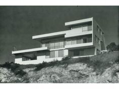 Rudolph Schindler's Fitzpatrick/Leland House. Designed in 1936 as the architect's only spec home