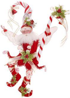 Mark Roberts Ltd Ed Christmas Candy Cane Fairy Whimsical Christmas, Christmas Fairy, Christmas Store, Christmas Colors, Christmas Decorations, Christmas Ornaments, Christmas Images, Merry Christmas, Christmas Scenes