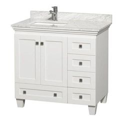 Home Decorators Collection Sonoma 36 In W X 22 D Bath Vanity White With Natural Marble Top Grey Pinterest Tops