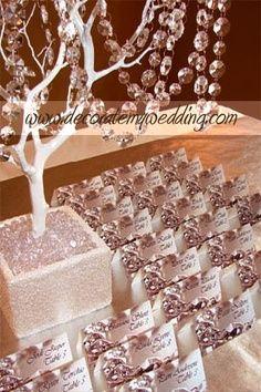 Images of diamond theme weddings | Gold & Diamond Themed Event