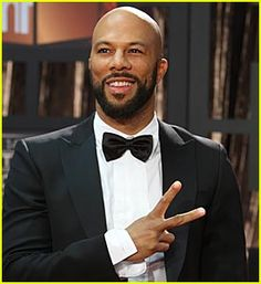 COMMON - a 'Conscious' rapper about things other than drugs, guns, and sex (check out my Top 10 Common songs - click image)