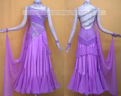 Custom-made ballroom dance apparels