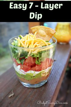 Perfect dip for any occasion - PLUS it is gluten - free
