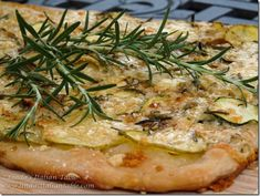 Zucchini and Potato Flatbread http://www.lindasitaliantable.com/zucchini-and-potato-flatbread/