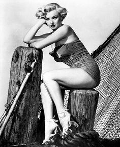 Marilyn. Photo by Phil Burchman, 1951.