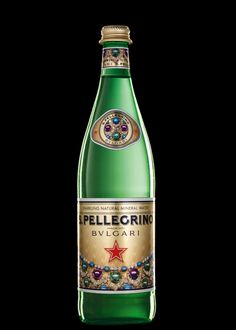 Woda S.Pellegrino iskrzy Bulgari