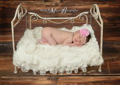 Pink and White Chevron Flower Headband with Peal and Rhinestone Center on White Skinny Nylon Headband - Fits Preemies to Adults - Photo Prop on Etsy, $7.50