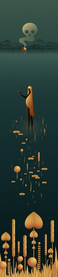 The Swamp Story by Justina Lei #illustration
