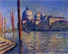 The Grand Canal and Santa Maria della Salute - Claude Monet - 1908
