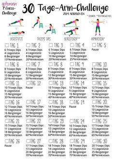 30 Tage-Arm-Challenge: Sag den Winkearmen auf Nimmerwiedersehen!