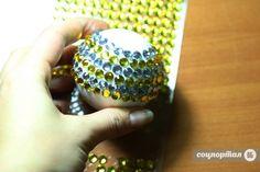Мастер-класс: новогодние шарики из пенопласта