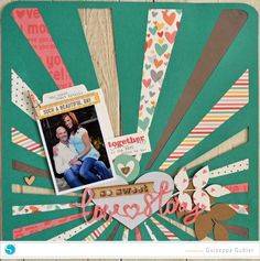 Still in Love…Adhesive Cardstock and Corrugated Paper