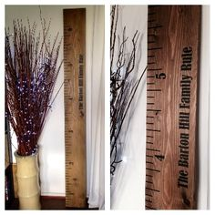 Personalized Espresso Train Childrens Wooden Growth Chart