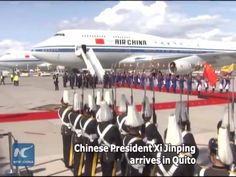 Chinese President Xi Jinping is on a state visit to Ecuador. This is the first state visit by a Chinese head of state to Ecuador in 36 years since the two countries forged diplomatic relations in 1980. This is also Xi's third visit to Latin America since he took office in 2013. During his stay in Quito, Xi will exchange views with Ecuadorian President Rafael Correa on bilateral ties. #XiVisit