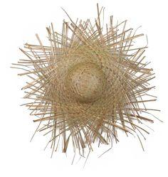 Sombrero de paja para fiestas de verano