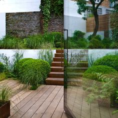 sarah price / residential garden, kensington / repinned on toby designs