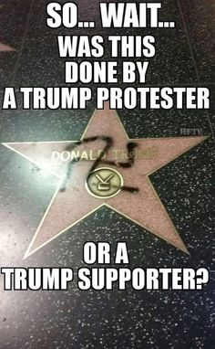 More than likely this was done by one of his Uncivilized, Violent, Racist Ignorant Supporters. We all know they aren't the brightest bulbs in the box and probably thought this was a great idea!! Don't know about you but I'm sooooo tired of Hateful, Stupid People in this Country!!! ENOUGH!!!
