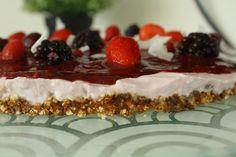 Guilt free cheesecake