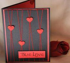 Handmade Valentines Day Card | foreversmemories ArtFire Gallery