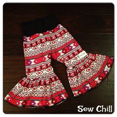 """""""Ruby"""" aztec big ruffles Sew Chill  www.sewchill.com loading 1/26/15 at 8:30pm CST"""