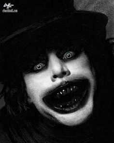 Print - The Babadook - Dark Art Horror Pop Lowbrow Thriller Fairytale Spooky Scary Death Gothic Halloween Monster Creature Teeth Black Scary Art, Spooky Scary, Best Horror Movies, Scary Movies, Arte Horror, Horror Art, Gothic Horror, The Babadook, Scary Drawings