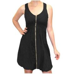 Bailey Blue Juniors' Zip Front  Dress (Apparel) via Realadriatic.com
