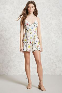 Floral Mini Cami Dress | Forever 21 - 2000269351