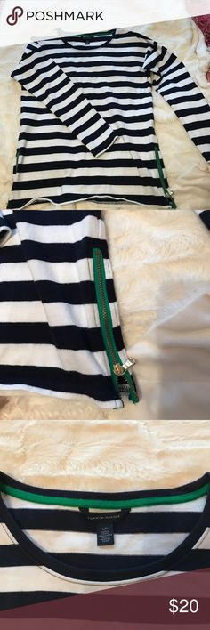 Selling this Tommy Hilfiger striped long sleeve shirt on Poshmark! My username is: kelseyd195. #shopmycloset #poshmark #fashion #shopping #style #forsale #Tommy Hilfiger #Tops
